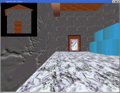 Room test (OpenGL + SDL)